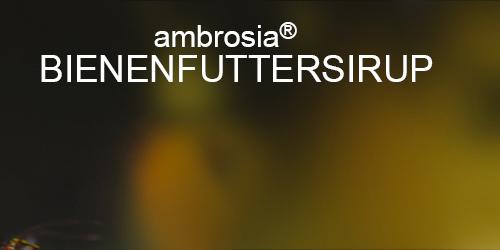 bienenfuttersirup ambrosia
